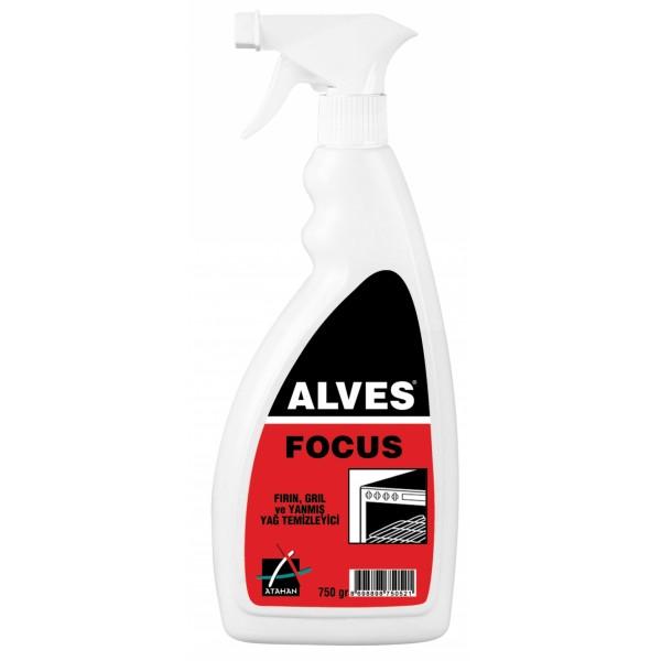 Alves Focus - Fırın, Gril ve Yanmış Yağ Temizleyici / Yağ Sökücü